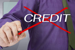 Bad credit Stock Photography
