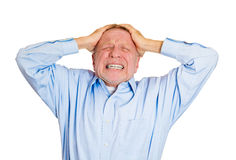 Bad day at work Royalty Free Stock Photography