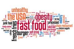 Bad diet Stock Image