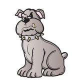 Bad dog. Illustration royalty free illustration