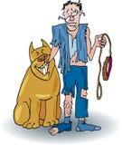 Bad dog stock illustration