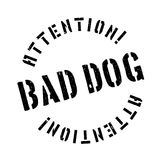 Bad Dog rubber stamp Stock Images