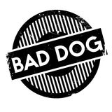 Bad Dog rubber stamp Stock Photography