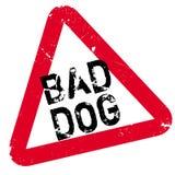 Bad Dog rubber stamp Stock Image