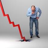 Bad economy Stock Photo