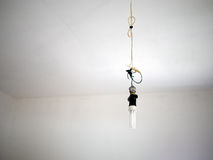 Bad electrical wiring Royalty Free Stock Images
