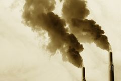 Bad Emissions Royalty Free Stock Images