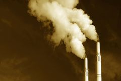 Bad Emissions Royalty Free Stock Image