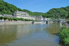Bad Ems,Lahn River,Rhineland-Palatinate,Germany. The popular Health Resort of Bad Ems,Lahn River,Rhineland-Palatinate,Germany stock photography
