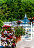 Bad Ems, the spa town on the banks of the river Lahn, Germany. Bad Ems, the spa town on the banks of the river Lahn, Rhineland-Palatinate, Germany Royalty Free Stock Photography