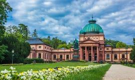 Bad för Kaiser Wilhelm ` s i dålig Homburg Arkivfoton