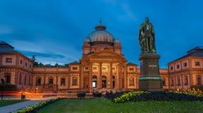 Bad för Kaiser Wilhelm ` s i dålig Homburg Arkivfoto