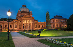 Bad för Kaiser Wilhelm ` s i dålig Homburg Royaltyfri Foto