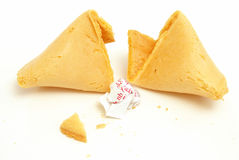 Bad Fortune Cookie Stock Images