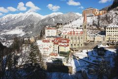 Bad Gastein, Austria Royalty Free Stock Photo