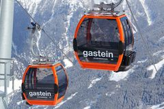Bad Gastein lift Royalty Free Stock Image