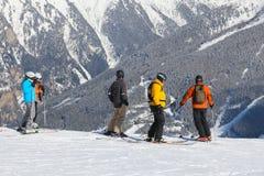 Bad Gastein ski Royalty Free Stock Photo