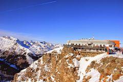 Bad gastein sky resort Stock Images