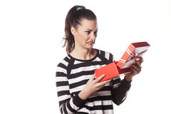 Bad gift Royalty Free Stock Image