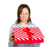 Bad gift idea Royalty Free Stock Photo