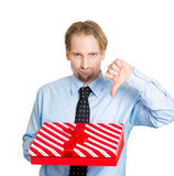 Bad gift ideas Royalty Free Stock Photography