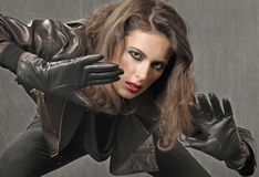 Bad Girl Stock Images