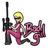 Bad girl Stock Image