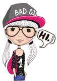 Bad Girl Royalty Free Stock Image