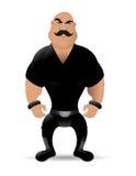 Bad guy. Cartoon illustration of a bad guy Royalty Free Stock Photo