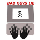 Bad guys lie Royalty Free Stock Photography