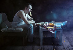 Bad habits stock images