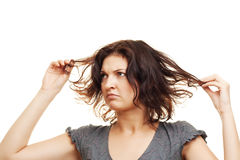 Bad Hair Royalty Free Stock Photography
