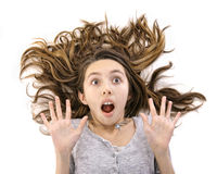 Bad hair day Royalty Free Stock Images