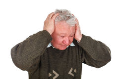 Bad headache Stock Photos