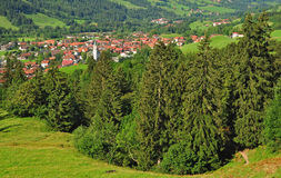 Bad Hindelang,Allgaeu,Germany Royalty Free Stock Photography