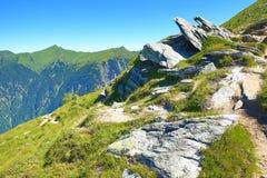 Bad Hofgastein, The Way from Stubnerkogel to  Bad Hofgastein, Austria Stock Images