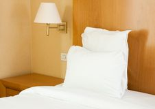 Bad in a hotel Royalty Free Stock Images