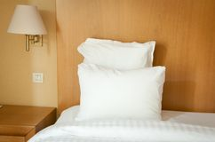Bad in a hotel Royalty Free Stock Photos