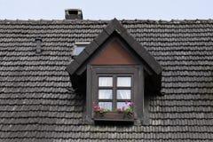 Bad Iburg, Dormer window in Germany Stock Image