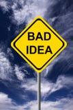Bad idea Stock Photos