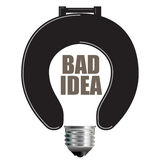 Bad Idea Concept Stock Photos