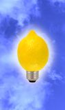 Bad Idea - it's a lemon Stock Photography