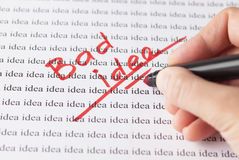Bad idea Stock Photo