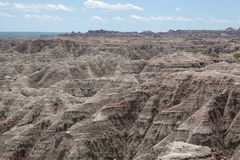 Bad-lands photos libres de droits