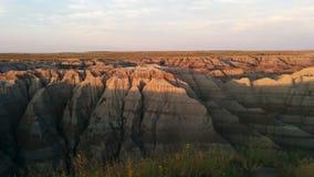 bad-lands Photo libre de droits