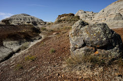 Bad-lands Boulder Photographie stock libre de droits