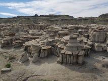 Bad-lands de Bisti Photos stock