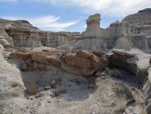 Bad-lands de Bisti Image stock
