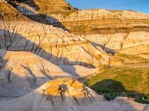 Bad-lands, Drumheller Image stock