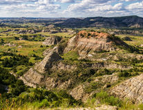 Bad-lands du Dakota du Nord Image stock